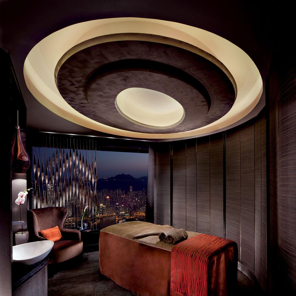 Behandlingsrum på Ritz-Carltons SPA.