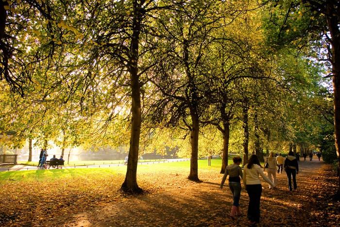 Dublin är en stad med många parker och grönområden.