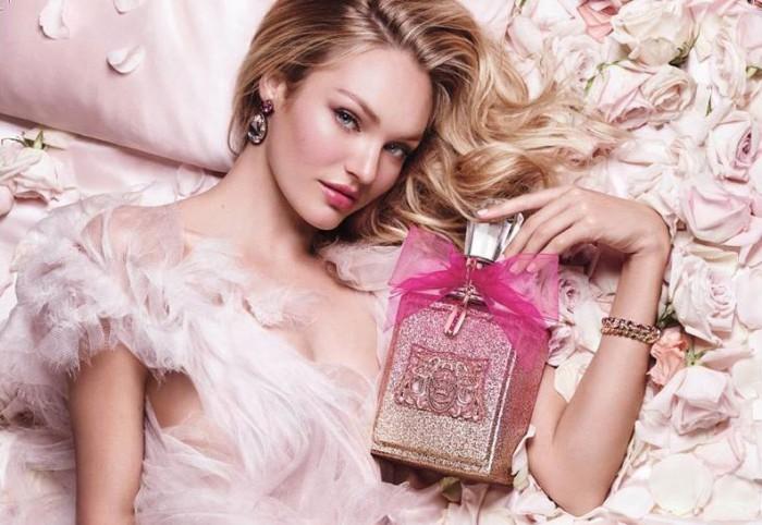 Viva La Juicy Rosé frontas av supermodellen Candice Swanepoel.