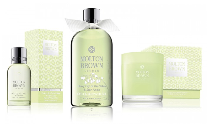 Lily of the Valley & Star Anis Collection, Molton Brown.