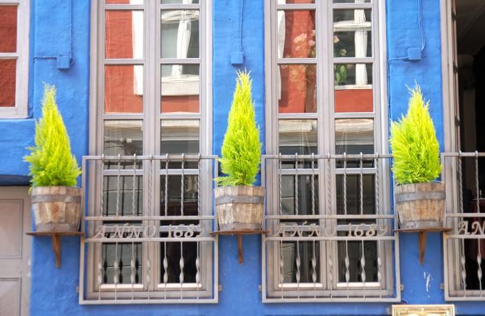 Färgglada fasader är den danska huvudstadens kännetecken.