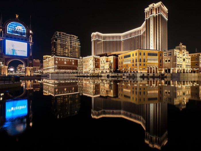 The Venetian, ett av stans mest kända kasinokomplex.