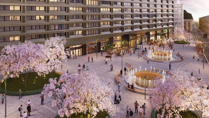Brunkebergstorg i Stockholms hjärta får under 2017 ett helt nytt utseende.