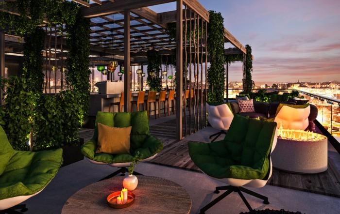 Sommarens mest givna utehak blir den fantastiska terrassen på TAK.