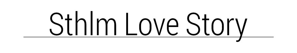 Logotyp - SthlmLoveStory